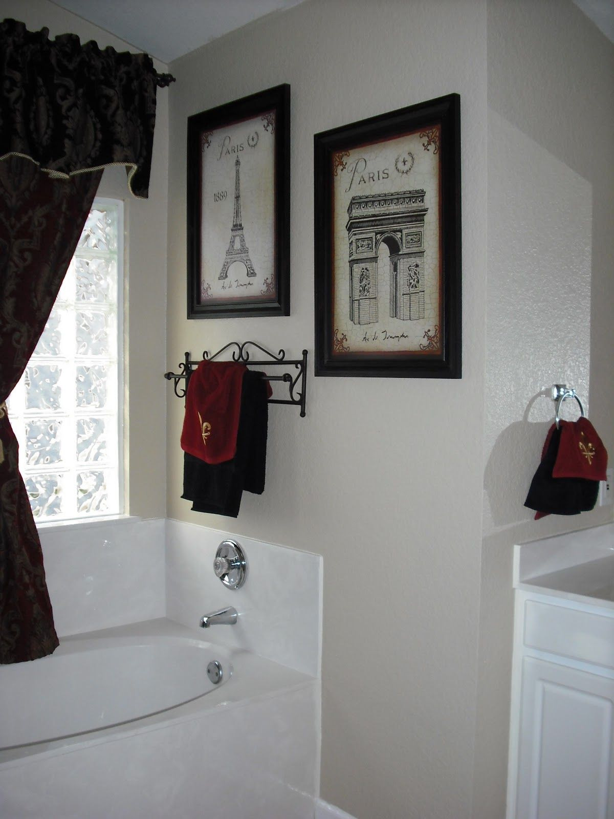 Paris themed Bathroom Decor Luxury Exactly What I Want for Master Bath Black and White Paris