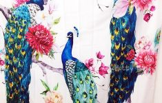 Peacock Bathroom Decor Fresh Birds Decor Elegant Peacock In Peony Flower Shower Curtains Mildew Resistant Polyester Fabric Bathroom Decorations Bath Curtains