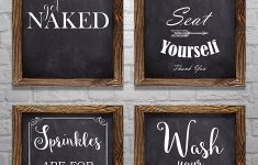 """Pictures For Bathroom Wall Decor Lovely Bathroom Wall Decor Bathroom Sayings And Phrases Art Prints Set Of Four 8""""x10"""" Prints Great Home Decor Gift Idea Set 2"""