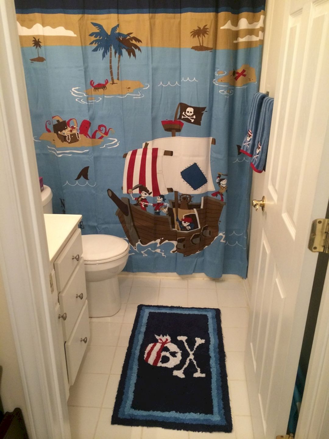 Pirate Bathroom Decor Ideas