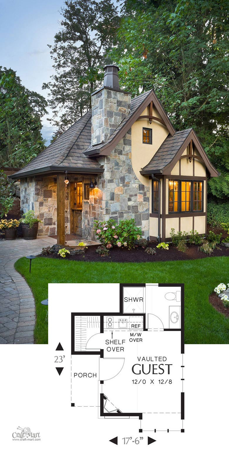 Plans for Guest House Inspirational 27 Adorable Free Tiny House Floor Plans Craft Mart