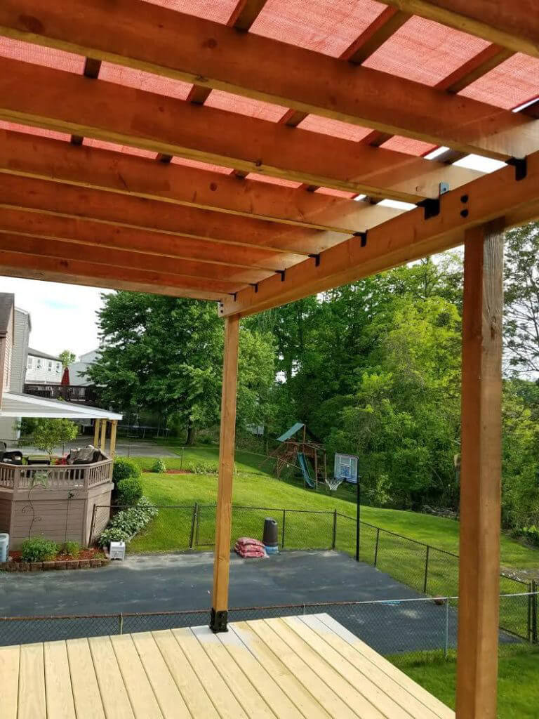 Plans for Pergola attached to House Lovely How to Build A Pergola On An Existing Deck that Will Stay
