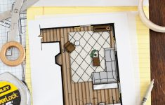 Program For Drawing House Plans Awesome How To Draw A Floor Plan A Beautiful Mess