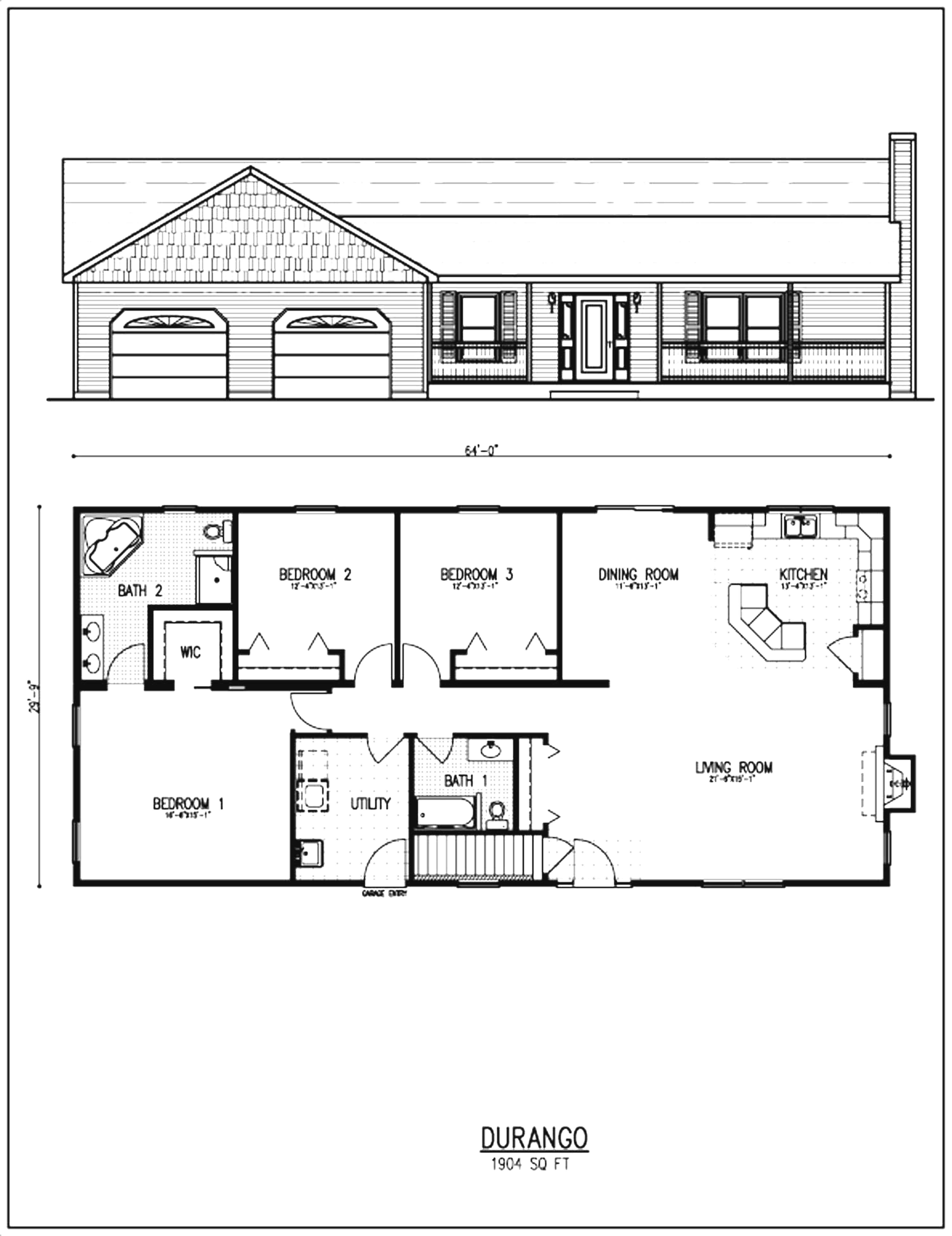 Ranch Style House Plans with Open Floor Plans Beautiful Ranch House Remodel Floor Plans Ranch House Remodel Floor