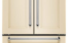 Refrigerator With Cabinet Doors Best Of Kitchenaid 21 9 Cu Ft Counter Depth French Door Refrigerator Custom Panel Ready