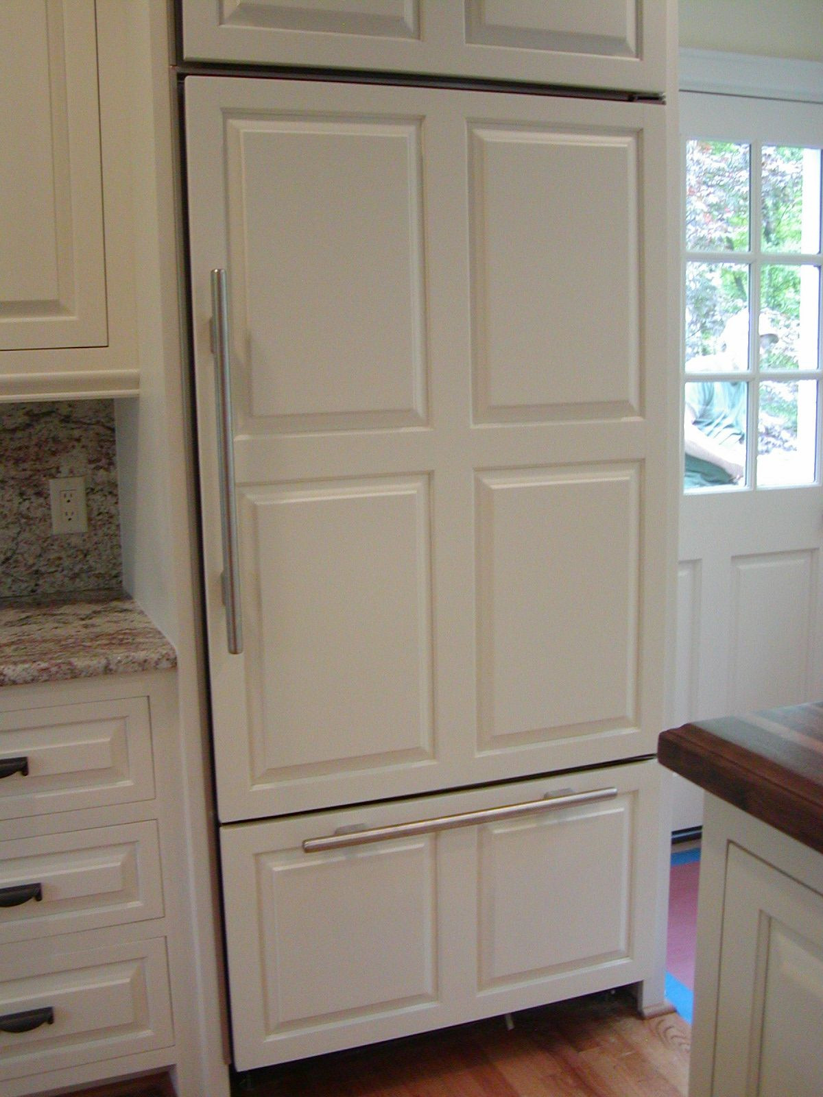 Refrigerator with Cabinet Doors Lovely Refrigerator with Cabinet Door Face