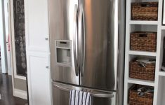 Refrigerator With Cabinet Doors Unique Pin On Kitchens