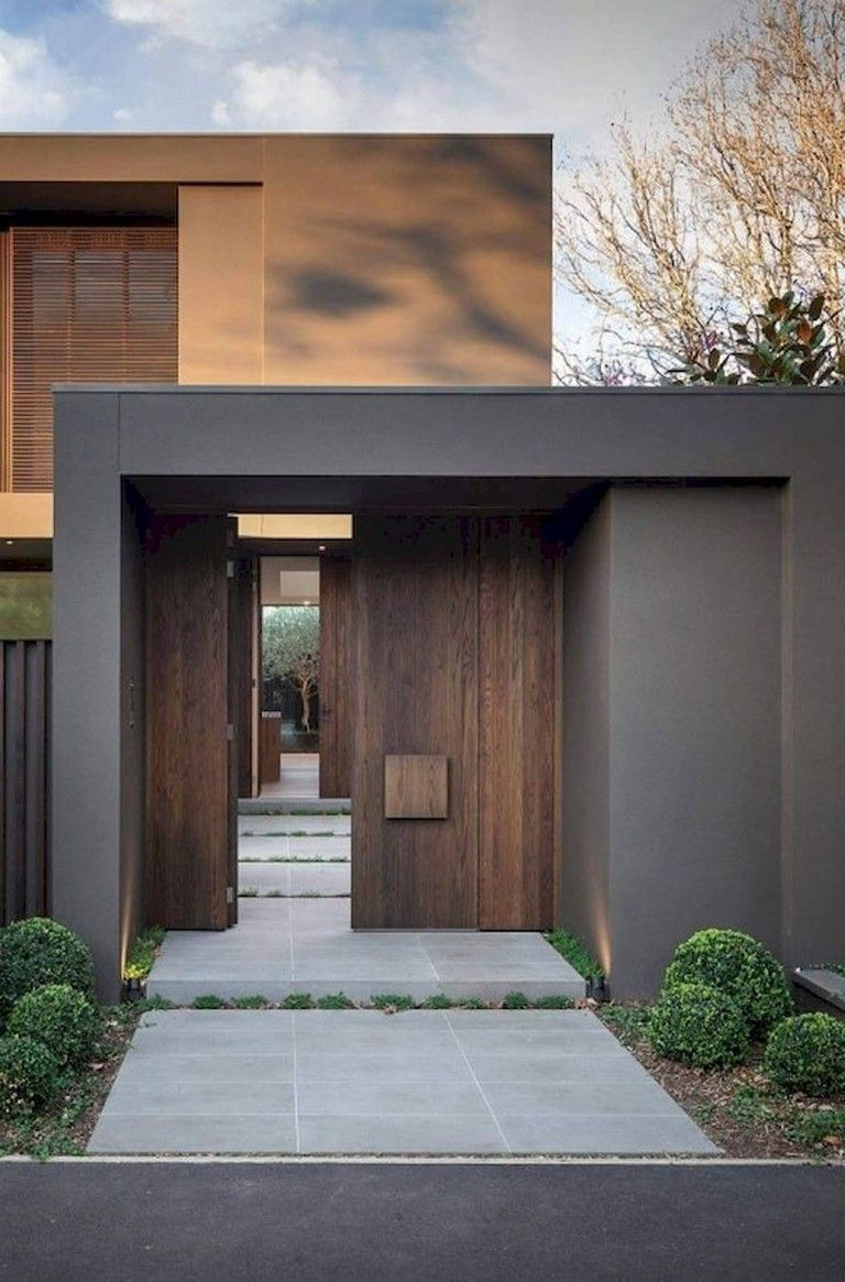 Residential Building Entrance Design Awesome 96 Amazing Latest Modern House Designs Architecture