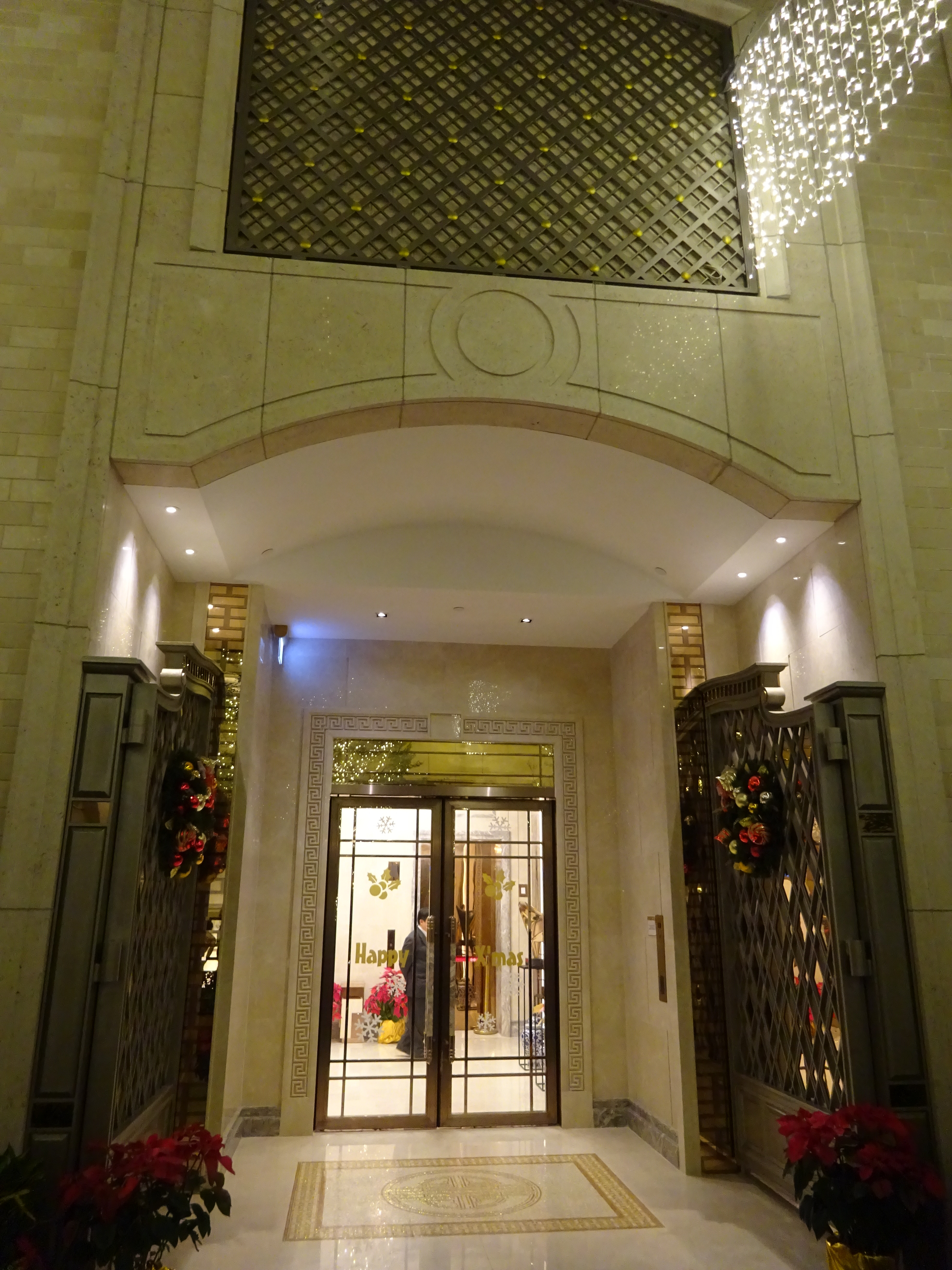 Residential Building Entrance Design Luxury File Hk Wan Chai Night Lee Tung Avenue Residential Building