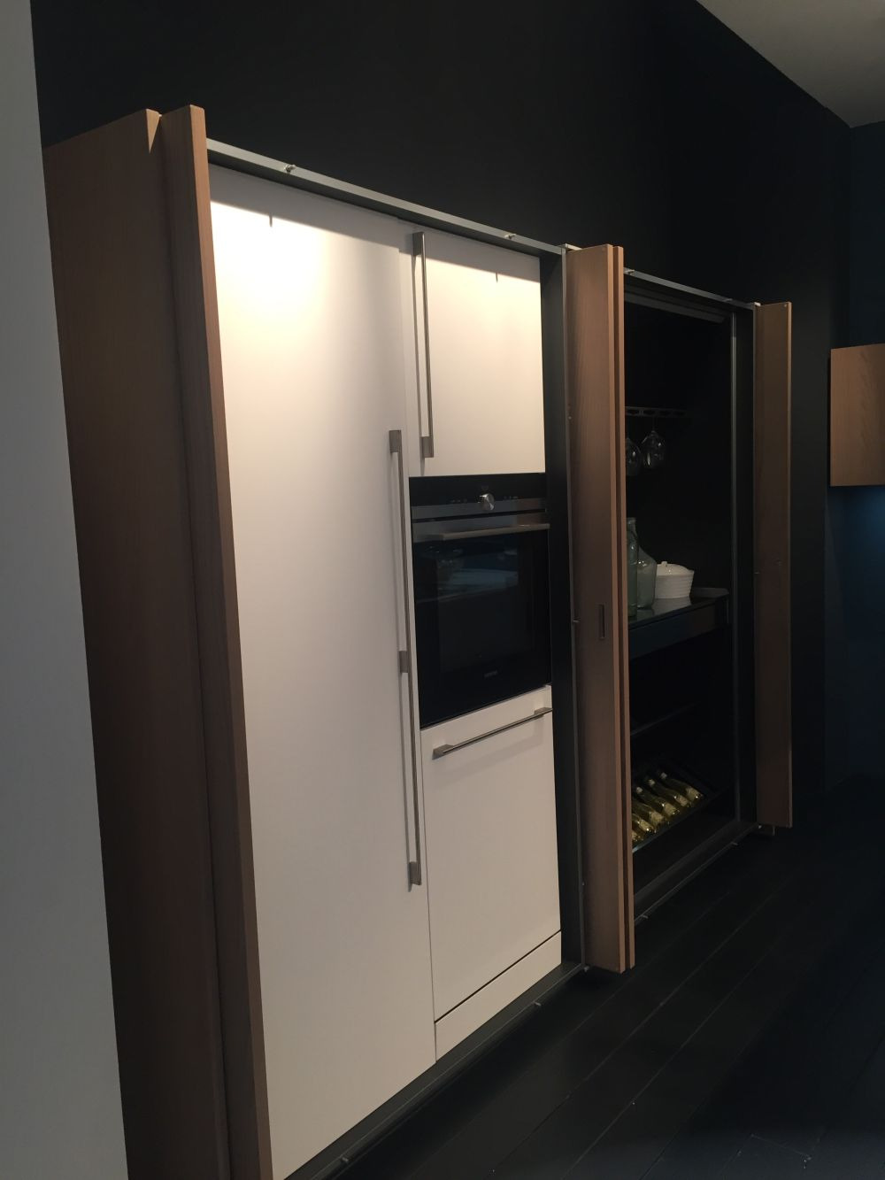 Retractable Cabinet Doors Luxury Kitchen Pocket Doors A Must Have for Small and Stylish Homes