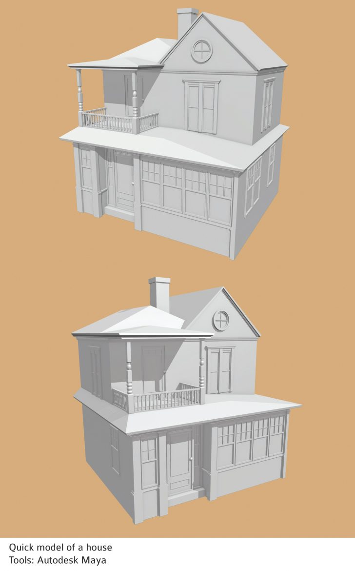 Simple House Models Pictures 2020