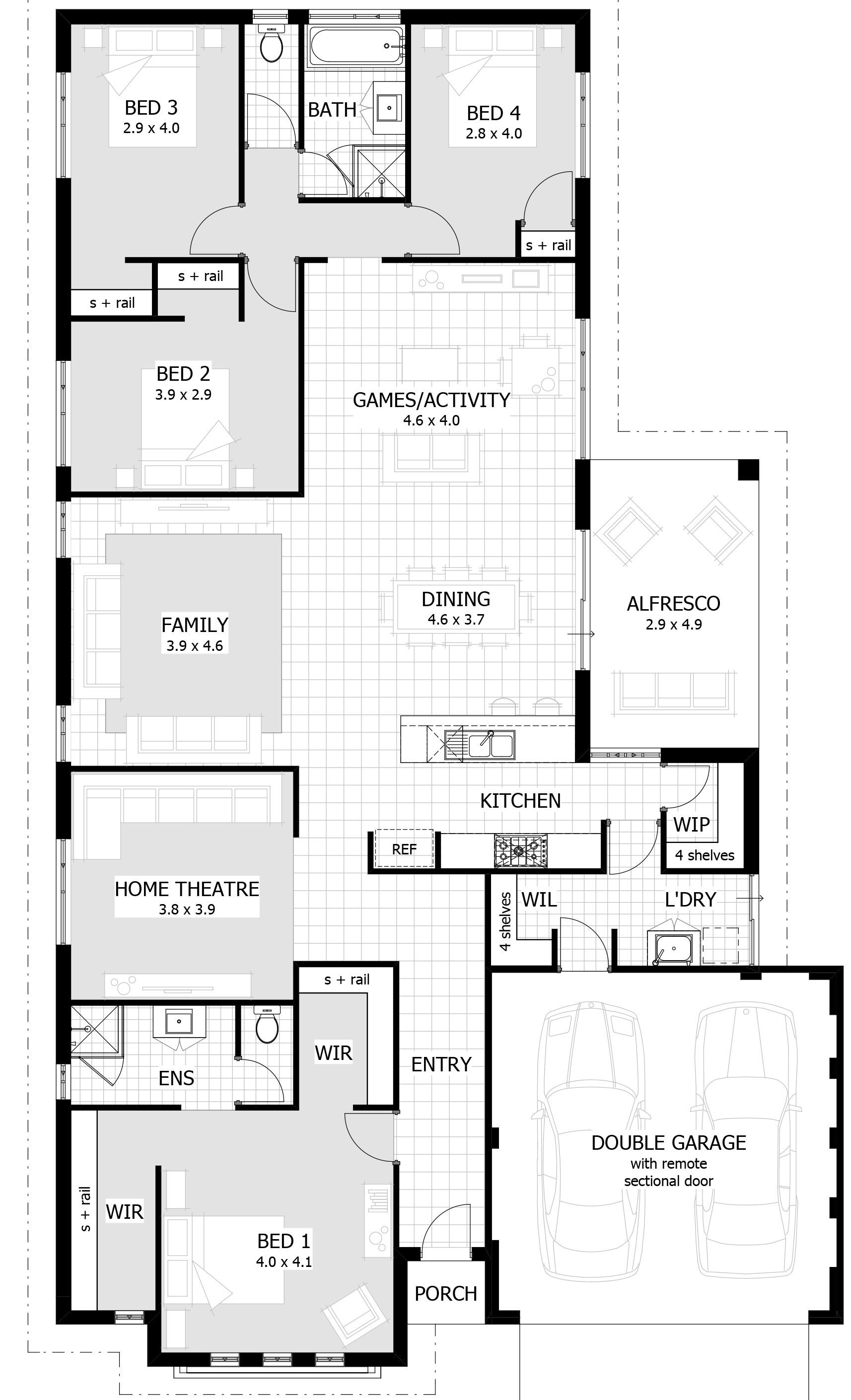 Simple House Plan software Best Of 15 Metre Wide Home Designs Con Imágenes
