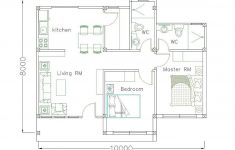 Simple House Plan Software Elegant Simple Home Design Plan 10x8m With 2 Bedrooms