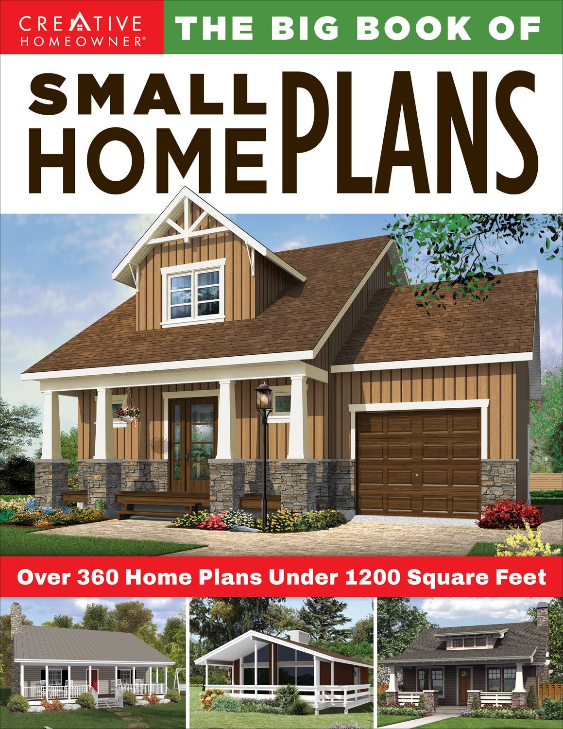Small Cabin Style House Plans Luxury the Big Book Of Small Home Plans Over 360 Home Plans Under