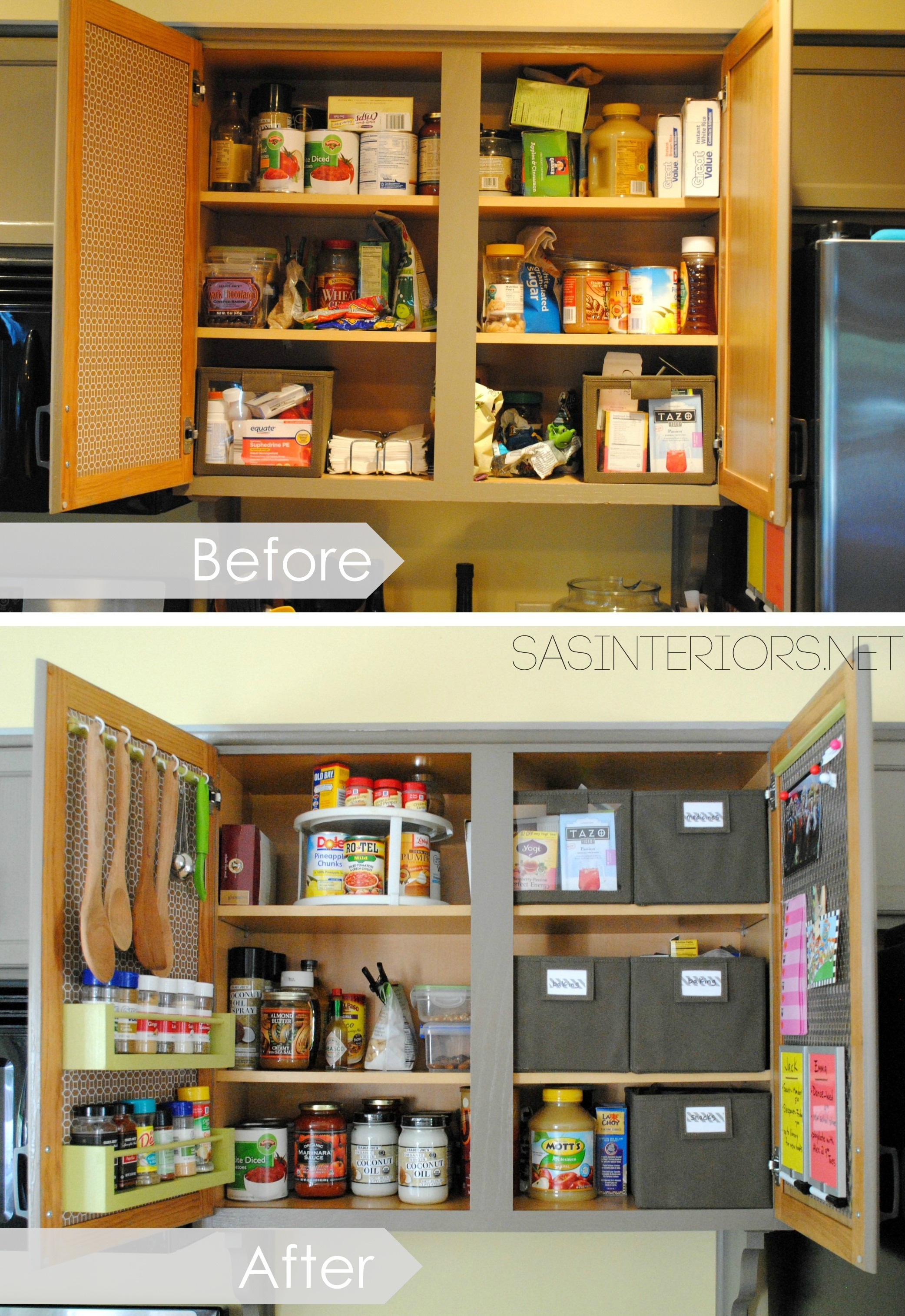 Small Cabinet Doors Beautiful Kitchen organization Ideas for the Inside Of the Cabinet
