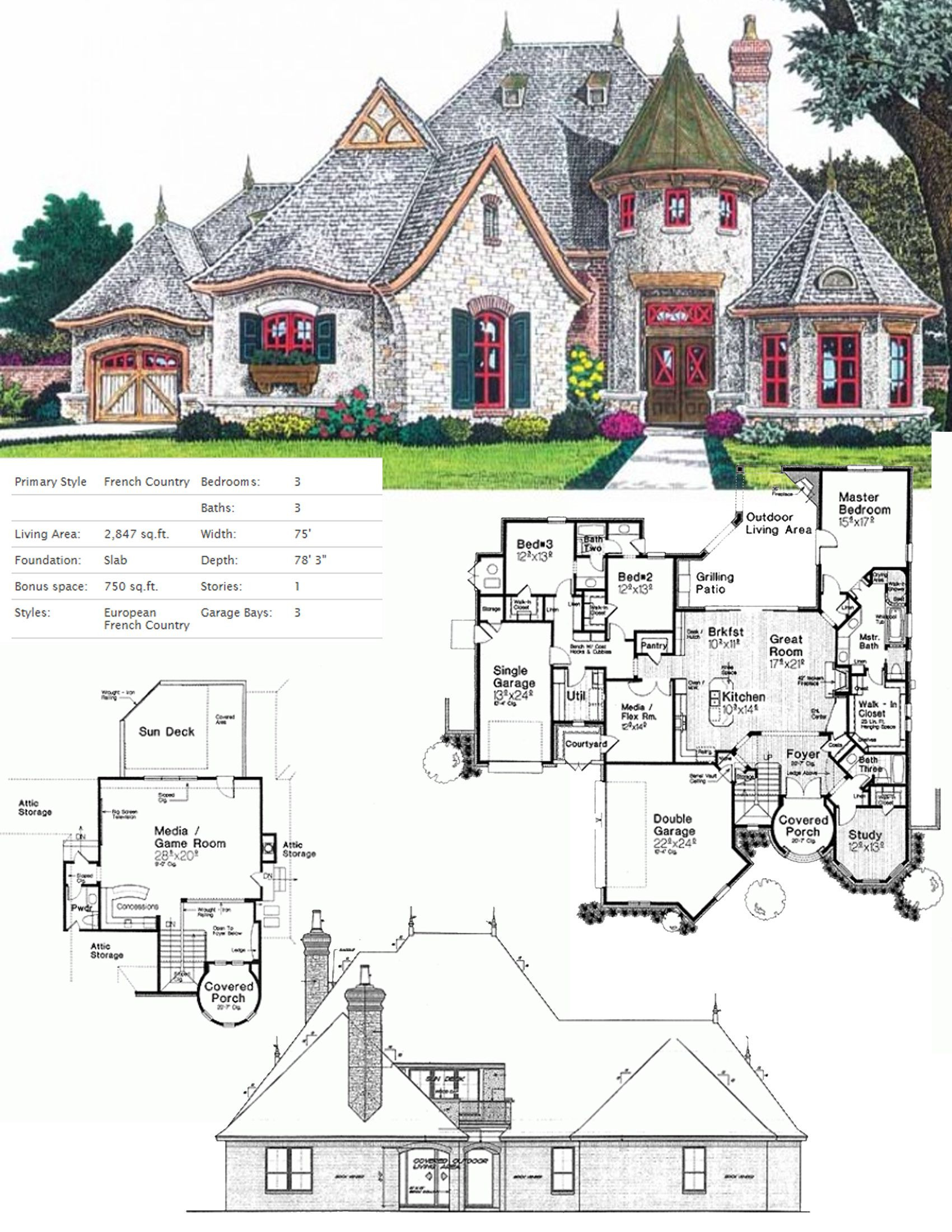 Small French House Plans Best Of 17 Brilliant Cottage Home Plans French to Get Mid Century