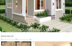 Small House Design Pictures Lovely Small House Design Plans 7x7 Mit 2 Schlafzimmern Hauspläne