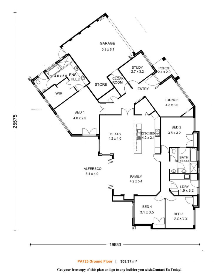 Small Single Level House Plans 2020
