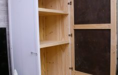 Small Storage Cabinet With Doors Awesome How To Build A Storage Cabinet In 9 Steps — Simply Handmade