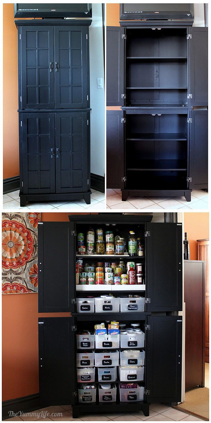 Small Storage Cabinet with Doors Luxury Instant Diy Pantry Cabinet An Easy Kitchen Storage solution