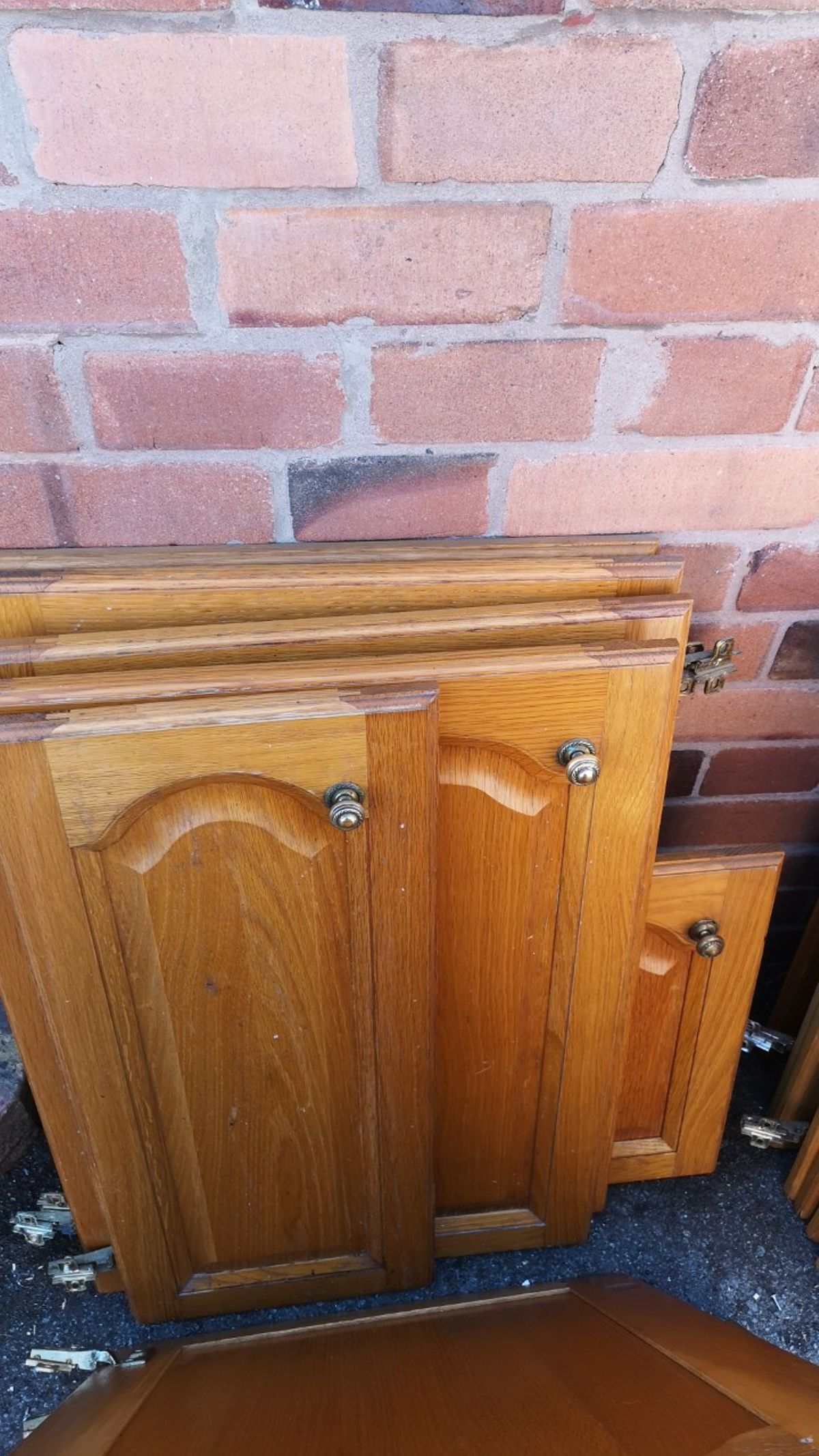 Solid Wood Cabinet Doors Fresh Free 21 solid Wood Cathedral Kitchen Doors In Shrewsbury