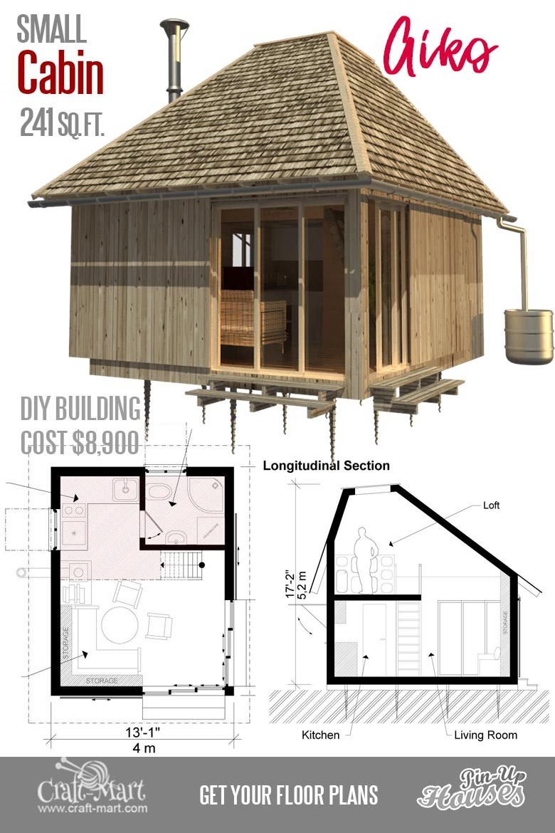 Super Small House Plans Luxury Cute Small Cabin Plans A Frame Tiny House Plans Cottages