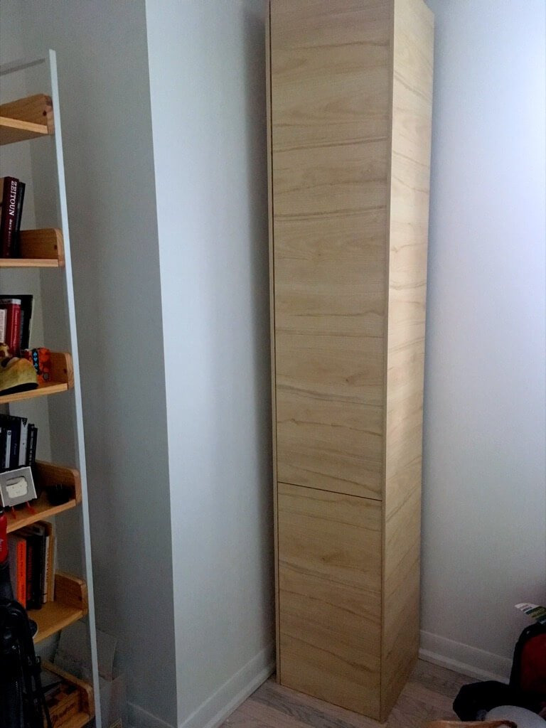 Tall Shoe Cabinet with Doors Inspirational A Classy Tall Shoe Cabinet to Fit Small Entryways Ikea Hackers