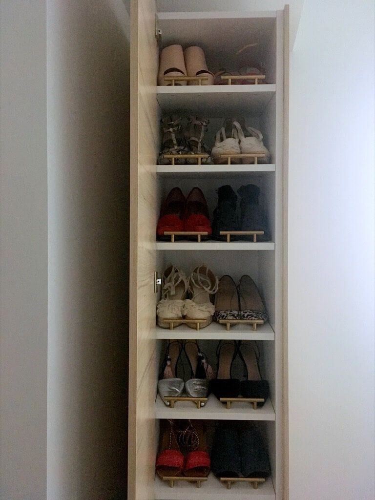Tall Shoe Cabinet with Doors Inspirational A Classy Tall Shoe Cabinet to Fit Small Entryways