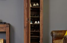 Tall Shoe Cabinet With Doors Inspirational Details About Shiro Premium Dark Wood Shoe Cabinet Tall Narrow Storage Modern Solid Walnut