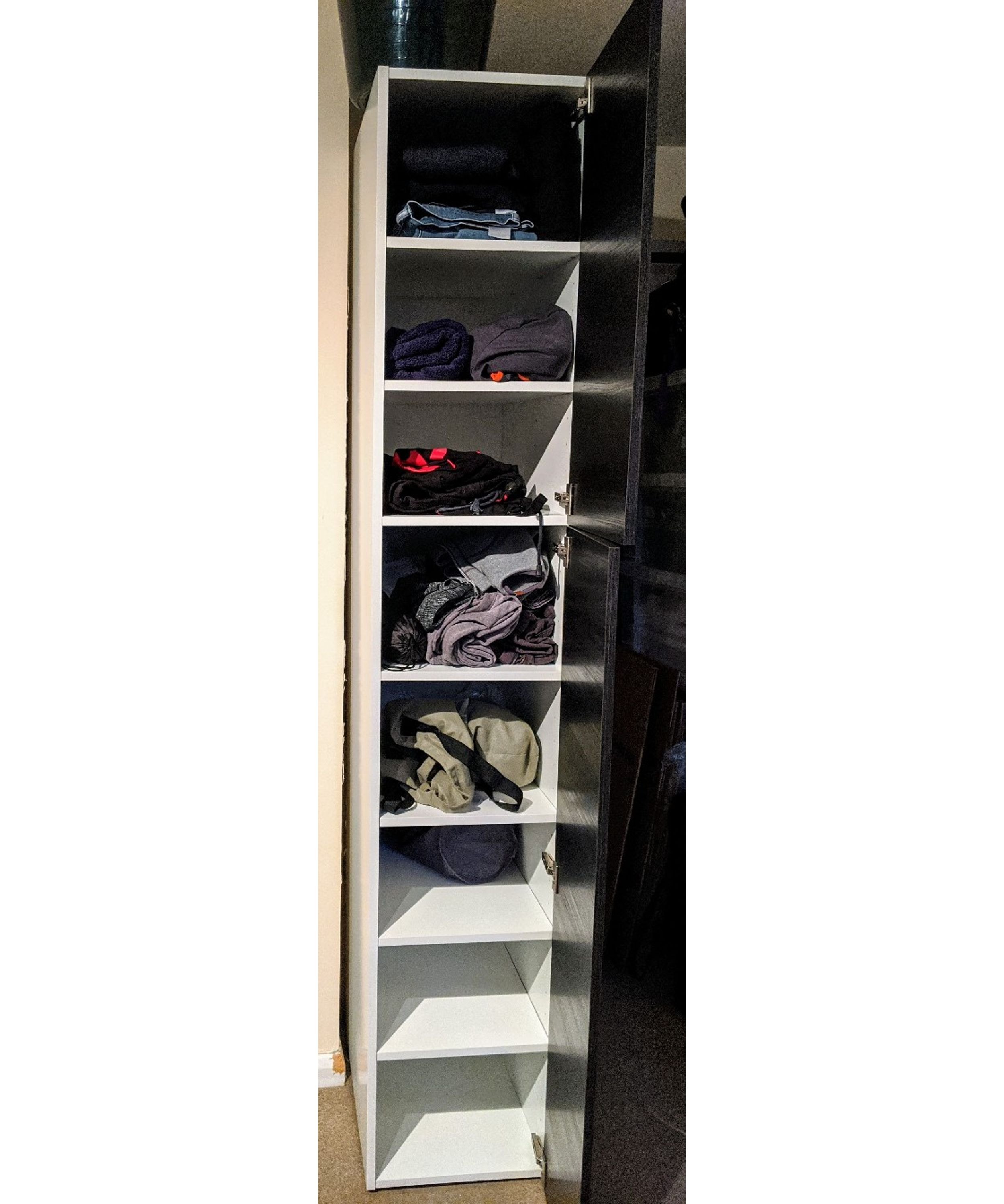 Tall Shoe Cabinet with Doors Luxury Tall Chest Of Drawers In Perfect Condition