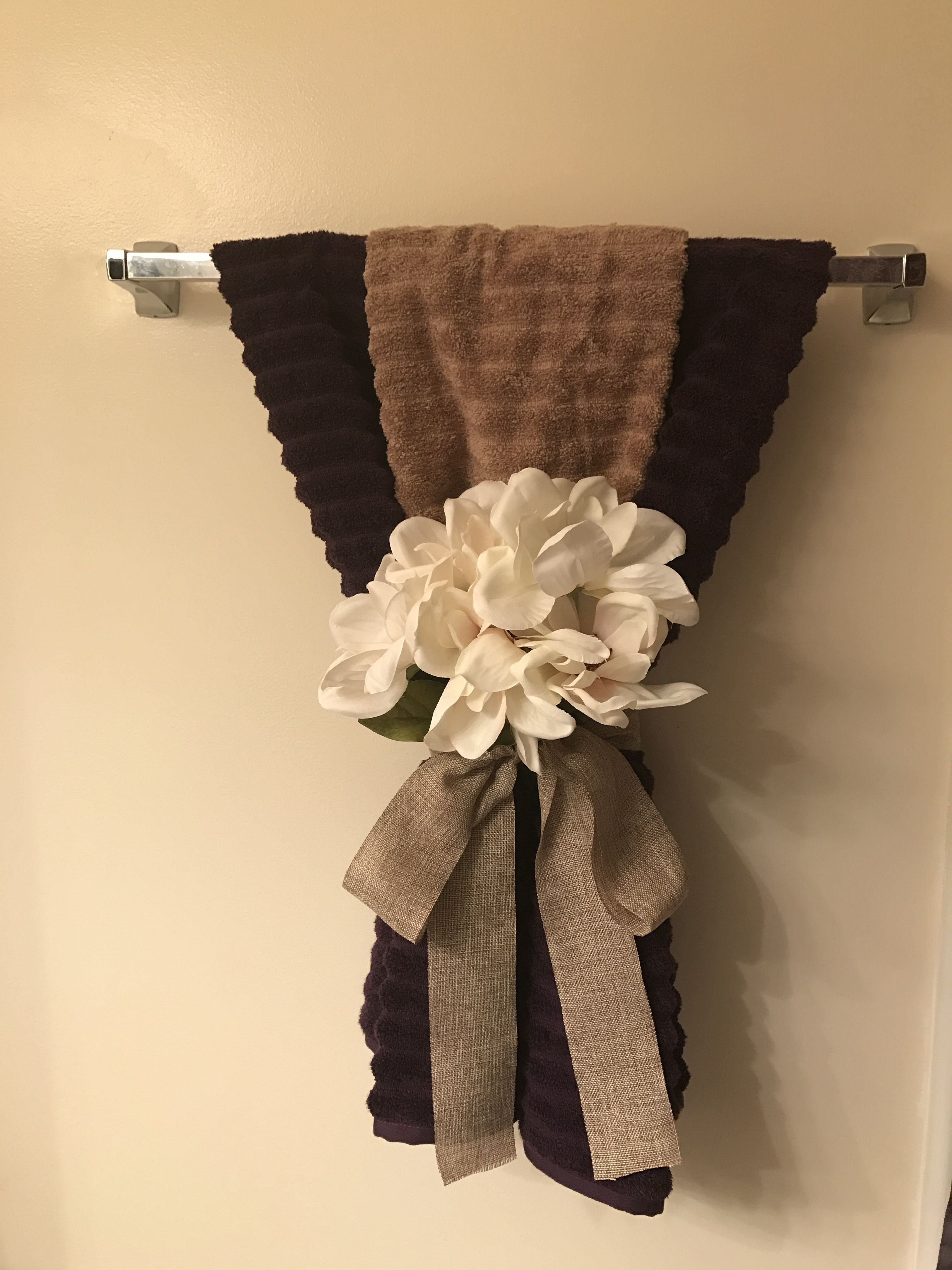 Towel Decoration for Bathroom Beautiful Decorating with Bathroom towels