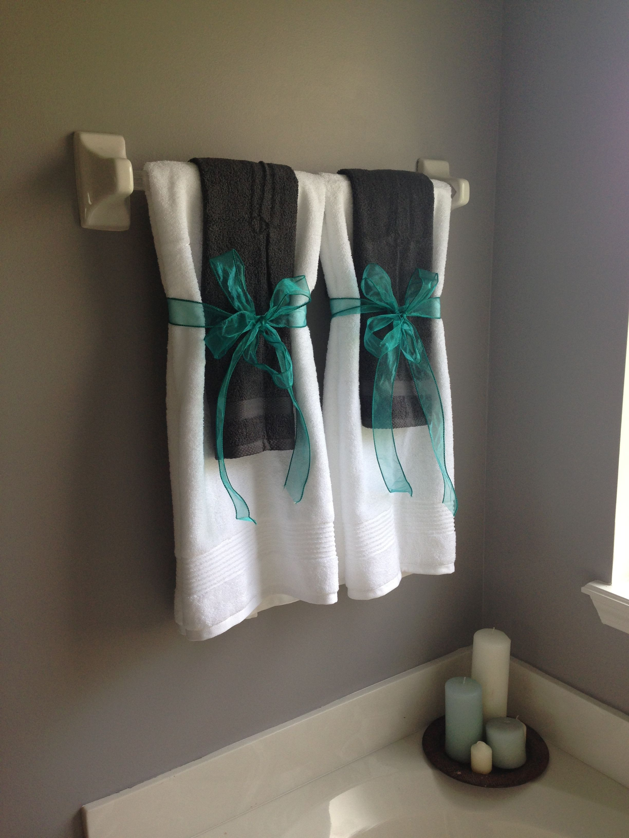 Towel Decoration for Bathroom New so No One Uses the Decorative towels