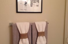 Towel Decoration For Bathroom Unique Contemporary How To Hang Decorative Towels Creative Modern