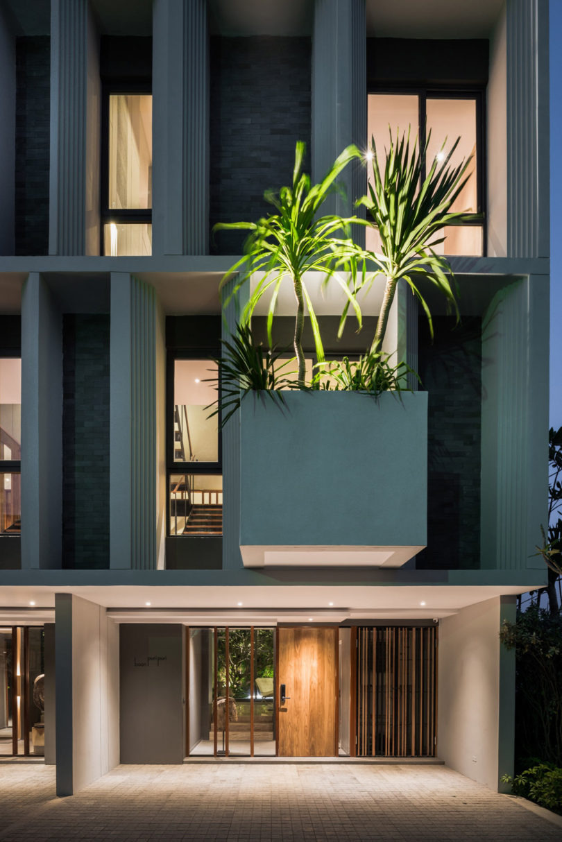 Town House Plans Modern Inspirational A Modern townhouse with A Private Garden In Bangkok Design