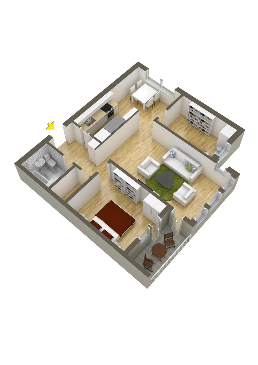 Two Bedrooms House Plans Inspirational 40 More 2 Bedroom Home Floor Plans