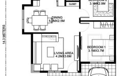 Two Bedrooms House Plans New Wanda – Simple 2 Bedroom House With Fire Wall