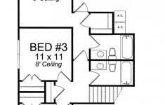 Two Bedrooms House Plans Unique Attic Floor Plans For Two Bedrooms