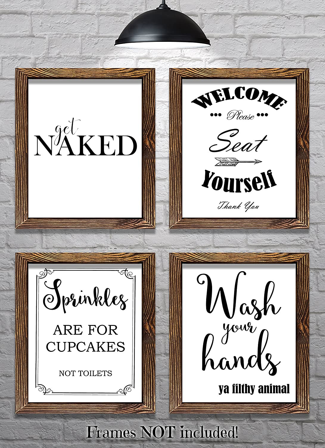 Wall Decor for Bathrooms Awesome Amazon Bathroom Wall Decor Bathroom Sayings and
