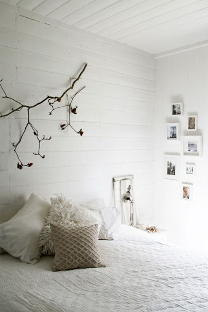 impressive master bedroom white theme
