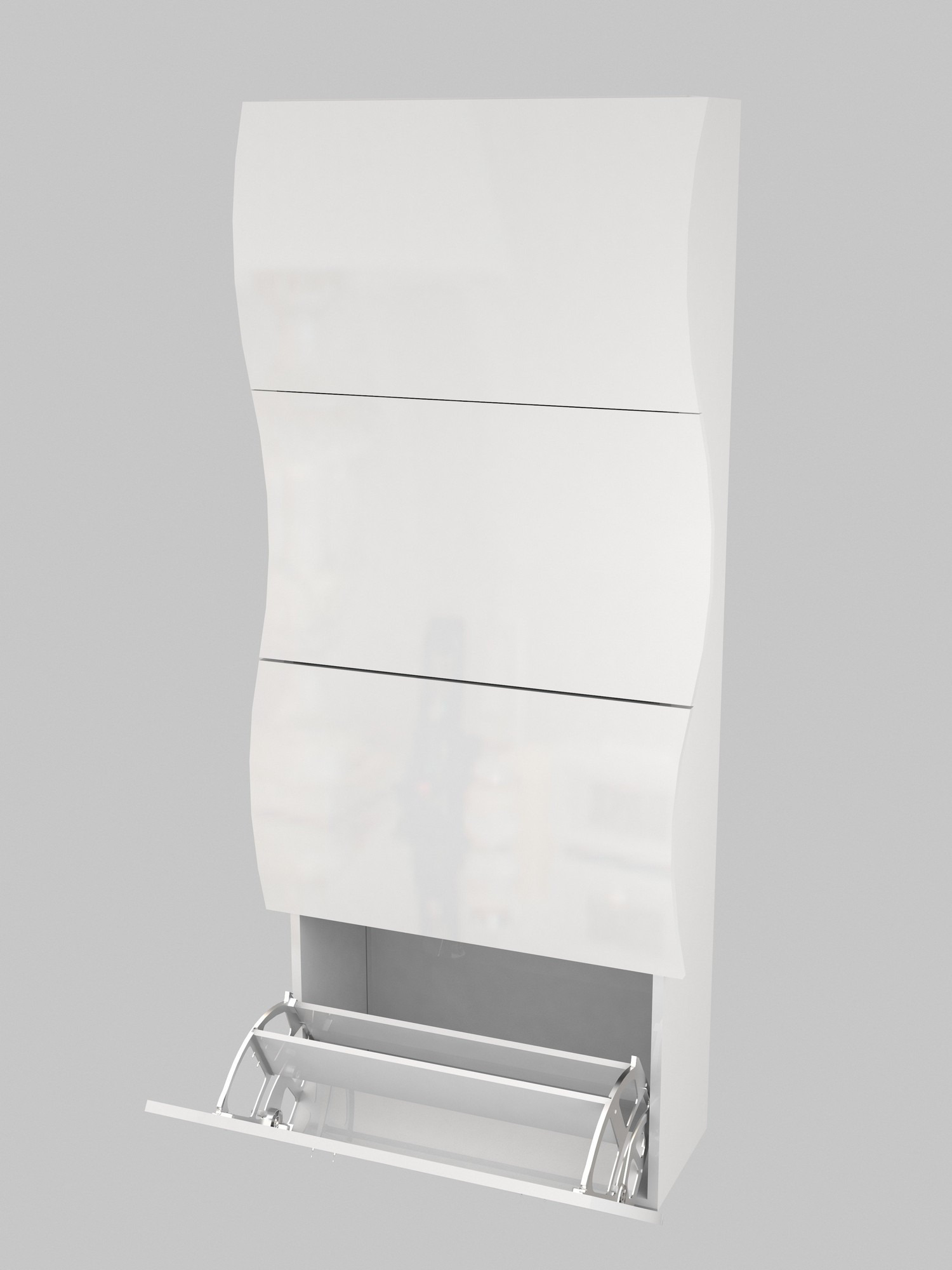 White Shoe Cabinet with Doors Awesome Shoe Cabinet Tecnos Italy