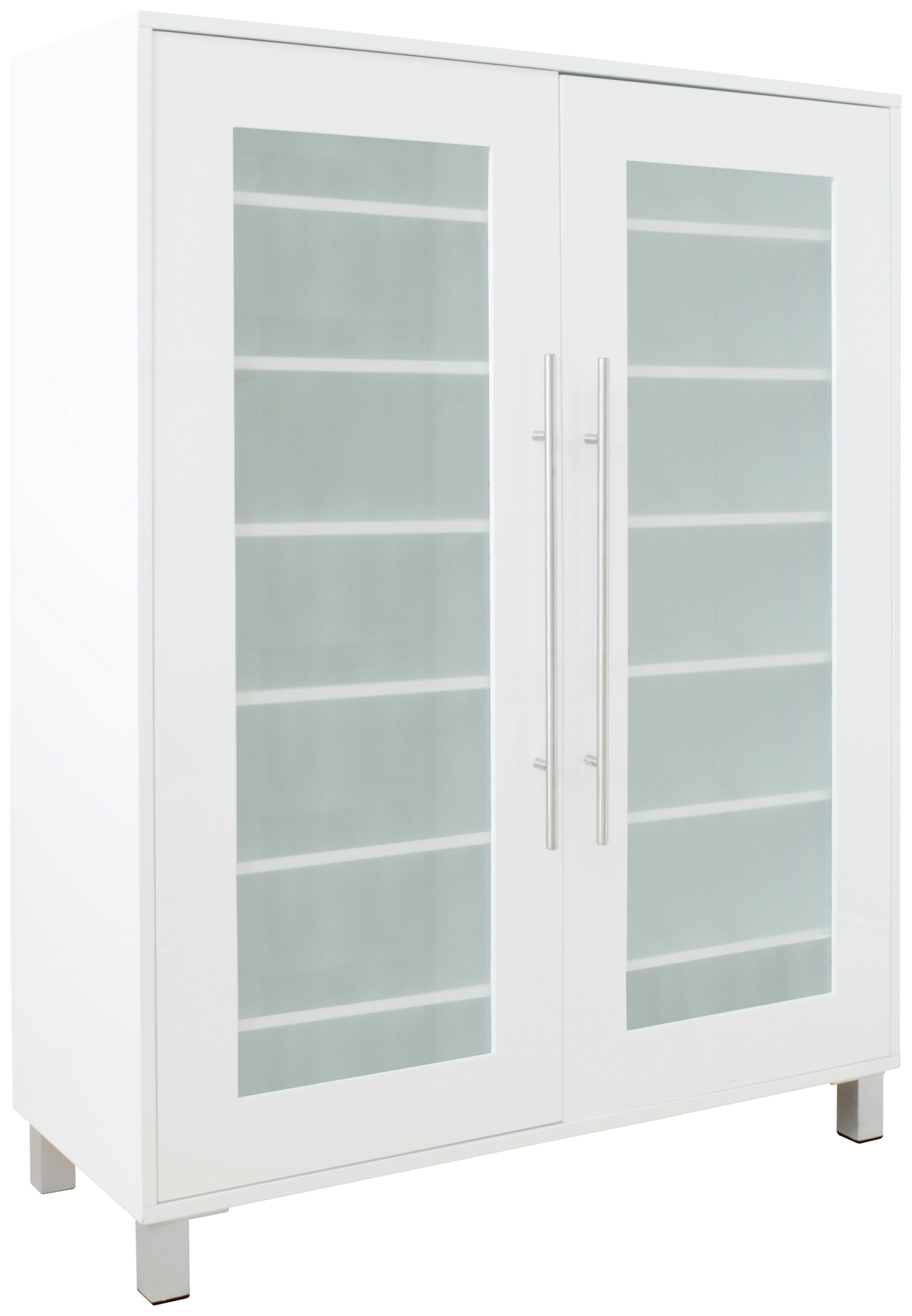 White Shoe Cabinet with Doors Best Of Hygena Lydiard Gloss Shoe Cabinet – White