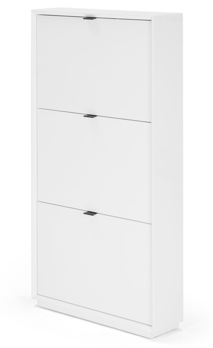White Shoe Cabinet with Doors Best Of Marcell Shoe Storage Cabinet White In 2020