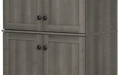 4 Door Storage Cabinet Fresh South Shore Hopedale Tall 4 Door Storage Cabinet With Adjustable Shelves Gray Maple