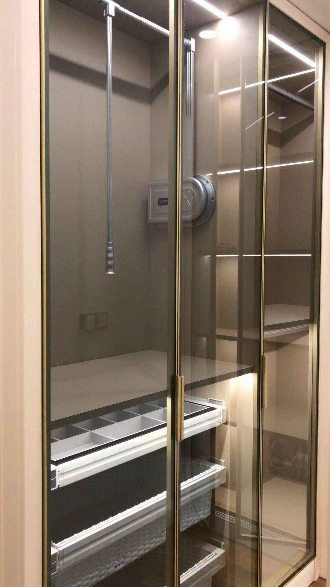 Aluminum Cabinet Doors Awesome Uke Glass Front Extruded Square Aluminum Cabinet Door Frame with Integrated Handle