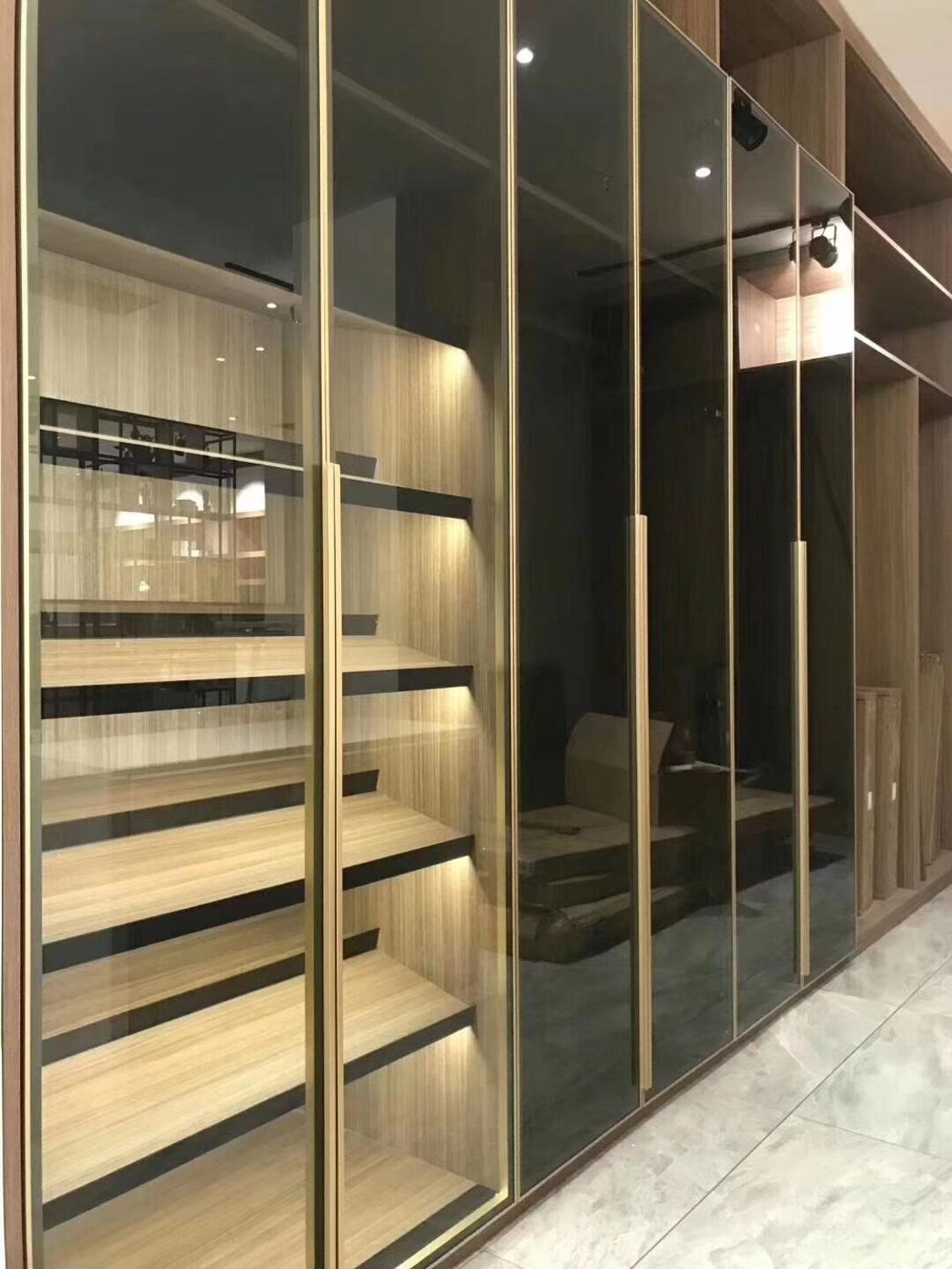 Aluminum Cabinet Doors Awesome Us $7 83 Off Uke Glass Front Extruded Square Aluminum Cabinet Door Frame with Integrated Handle Furniture Accessories