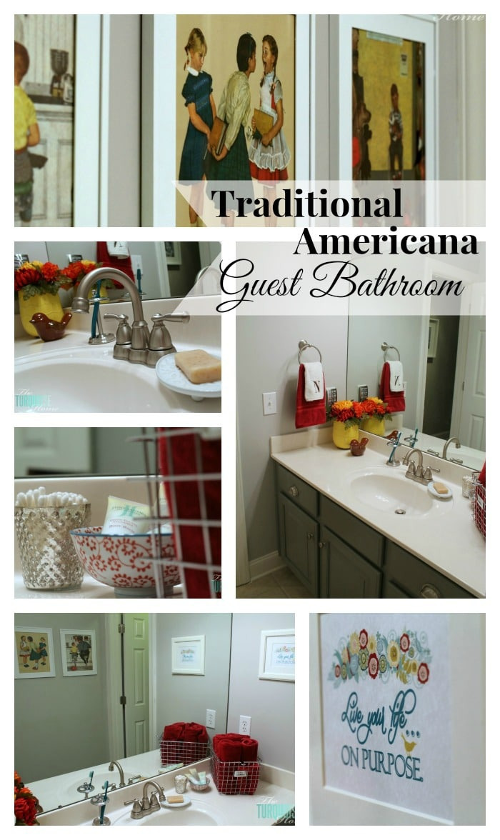 Americana Bathroom Decor 2021
