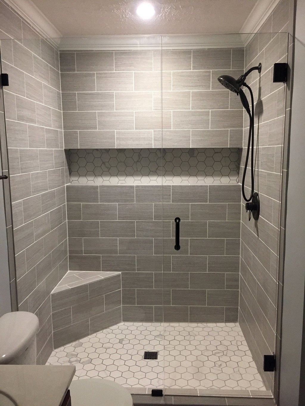 Master Bathroom Walk In Shower Ideas 39
