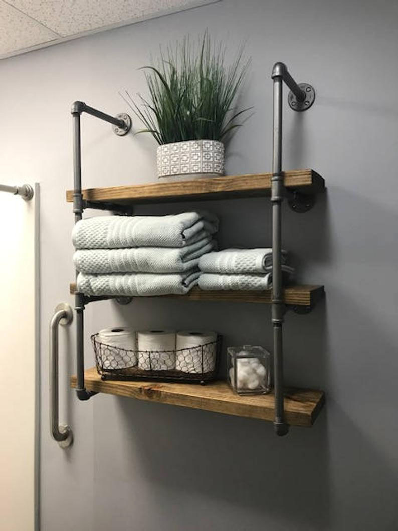 marvelous bathroom shelf ideas you can build yourself simplified wall decor