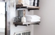 Bathroom Shelf Decorating Ideas Elegant 17 Small Bathroom Shelf Ideas