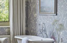 Bathroom Wallpaper Decorating Ideas Beautiful Bathroom Fascinating Bathroom Wallpaper Decorating Ideas
